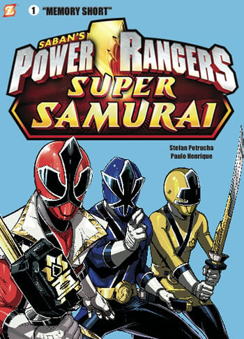 FIRST POWER RANGERS GRAPHIC NOVEL TO PREMIERE AT SDCC!