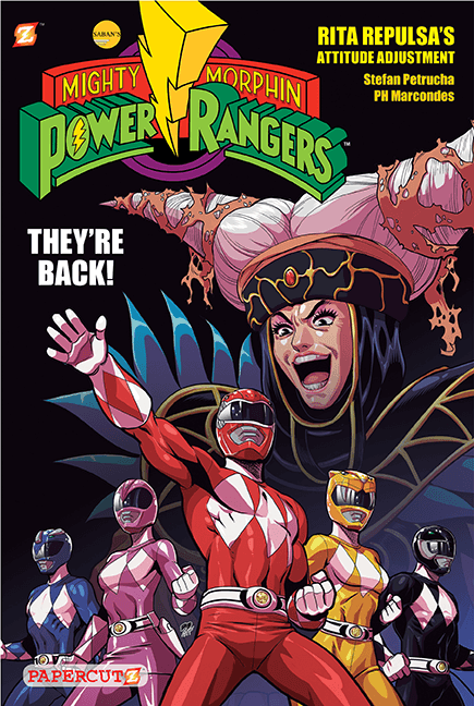 cover to MIGHTY MORPHIN' POWER RANGERS #1