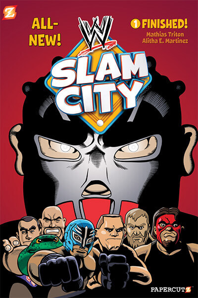 slamcity1 PAPERCUTZ EXPANDS WWE GRAPHIC NOVEL PRESENCE WITH NEW SLAM CITY SERIES!