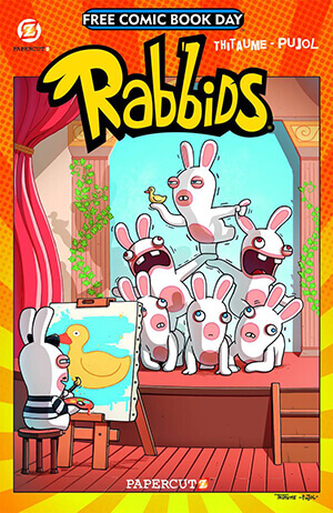 Rabbids FCBD 2015 FREE COMIC BOOK DAY TITLES ANNOUNCED