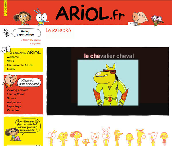 ariol french website 600 ARIOL Karaoke   Is There a Better Way to Start Monday?