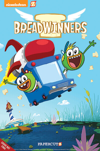 breadwinners 01  400 cover NICKELODEON AND PAPERCUTZ ANNOUNCE FIRST LOOK DEAL